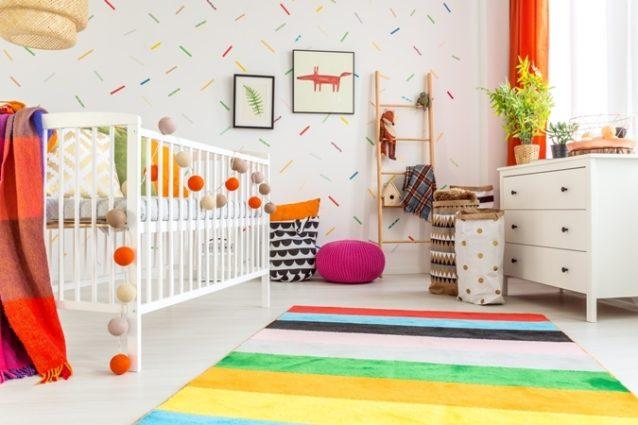 تفقدي الصور التالية وإكتشفي أجمل أوراق الجدران لغرف الأطفال كي تختاري منها