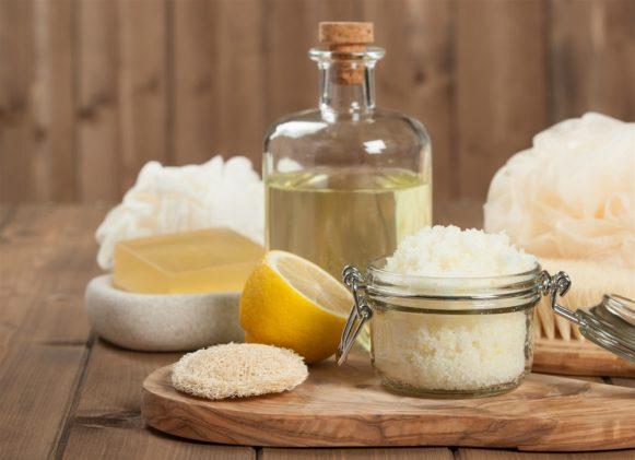 سكرب السكر والليمون – أنوثة