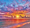 تفسير حلم غروب الشمس – أنوثة