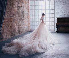 فساتين زفاف ظهر دانتيل – أنوثة