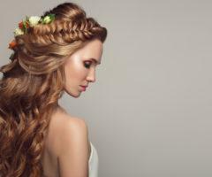 تسريحات جميلة للعروس ذات الشعر الطويل!