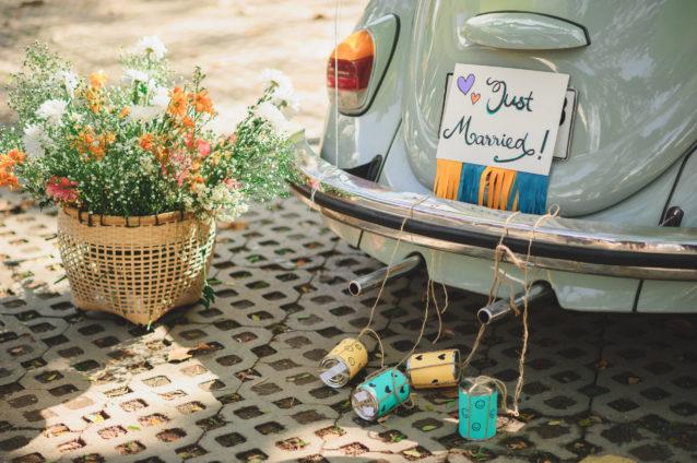 ديكورات سيارات زفاف عصرية... تأملي روعتها معنا!