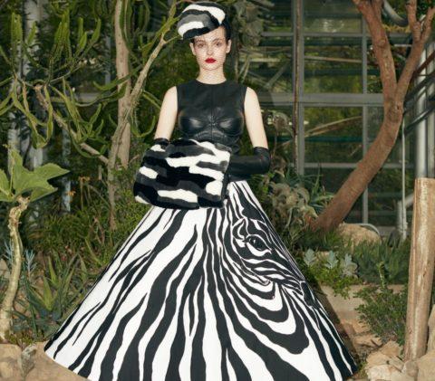 نقوش الحيوانات تطبع أزياء يانينا كوتور لشتاء 2021!