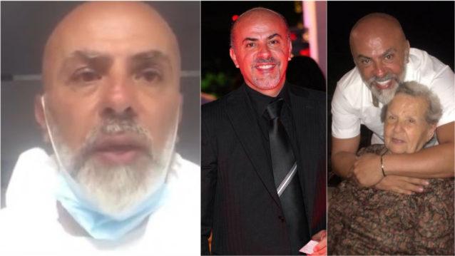 النجم اللبناني وجيه صقر يكشف لموقع أنوثة تفاصيل اصابته بفيروس كورونا!