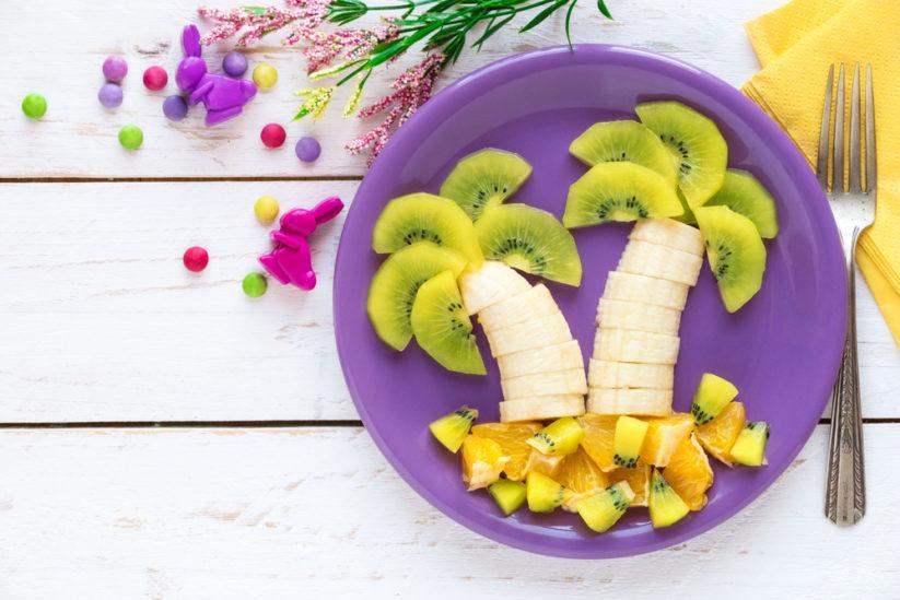 تناول الفواكه وتزيينها للأطفال