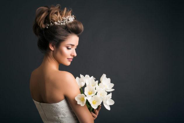 بالصور... شينيون عروس بموديلات منوعة وعصرية!
