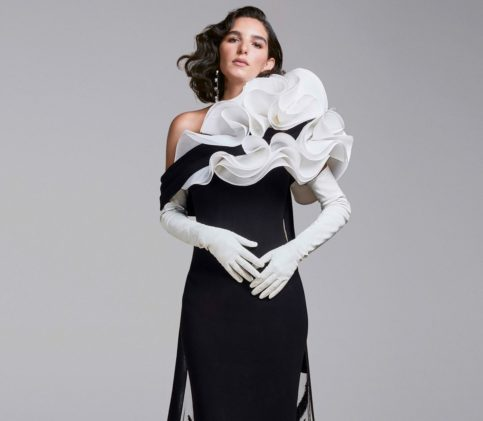 أزياء جورج شقرا الراقية لشتاء 2021: عودة الى الكلاسيكية