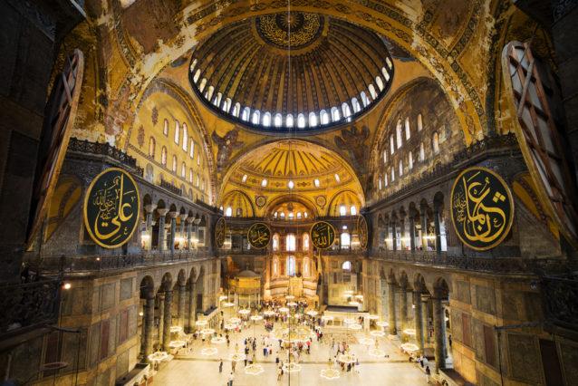 بالفيديو... أول صلاة جمعة في آيا صوفيا بعد تحويله من متحف الى مسجد