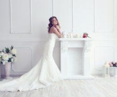 بالصور... فساتين زفاف خيالية بقصّة ذيل السمكة!