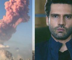 أول ممثل تركي يتضامن مع حادثة الانفجار في لبنان... صلّوا من أجل بيروت