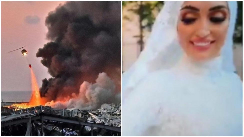 بالفيديو: انفجار بيروت... زفّة عروس لبنانية تتحوّل الى ذكرى مأساوية