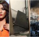 النجمة السعودية وعد تكشف بالفيديو عن حجم دمار منزلها في بيروت: