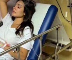 كيف بدا وجه نادين نجيم في أول صورة لها بعد انفجار بيروت؟