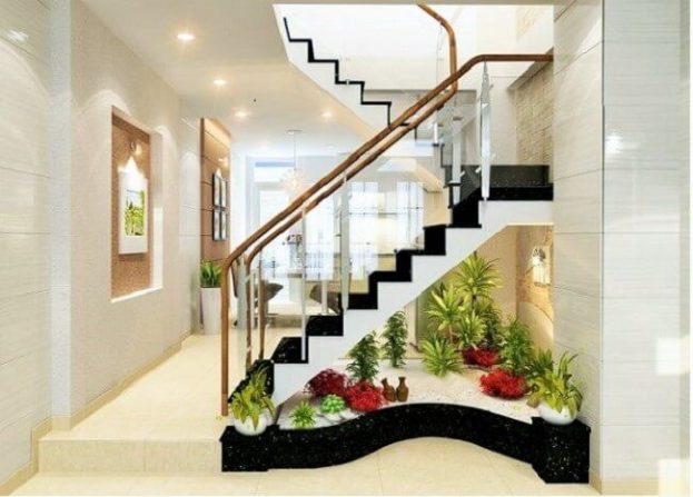 ديكور تحت الدرج