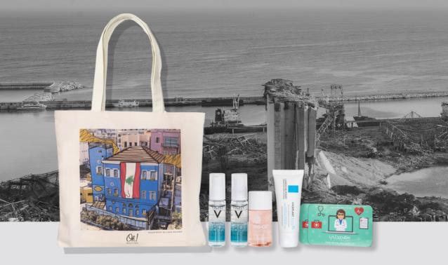 Oh! Beauty Box تكرّم بيروت على طريقتها بحقيبة يعود ريعها للصليب الأحمر اللبناني