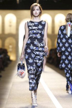 عروض اسبوع الموضة في ميلانو   ماركة فندي